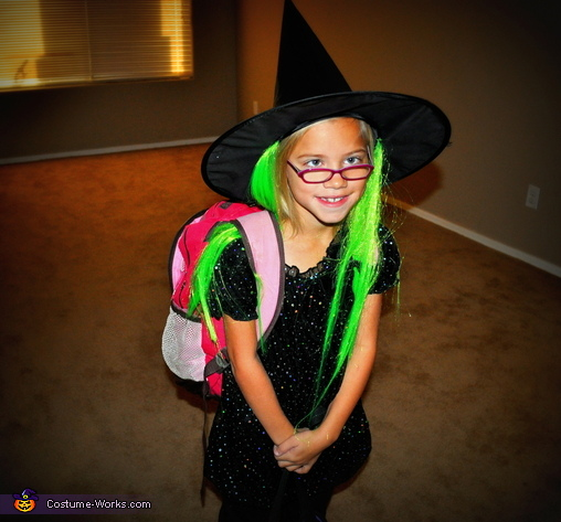 A Cute Little Witch Costume