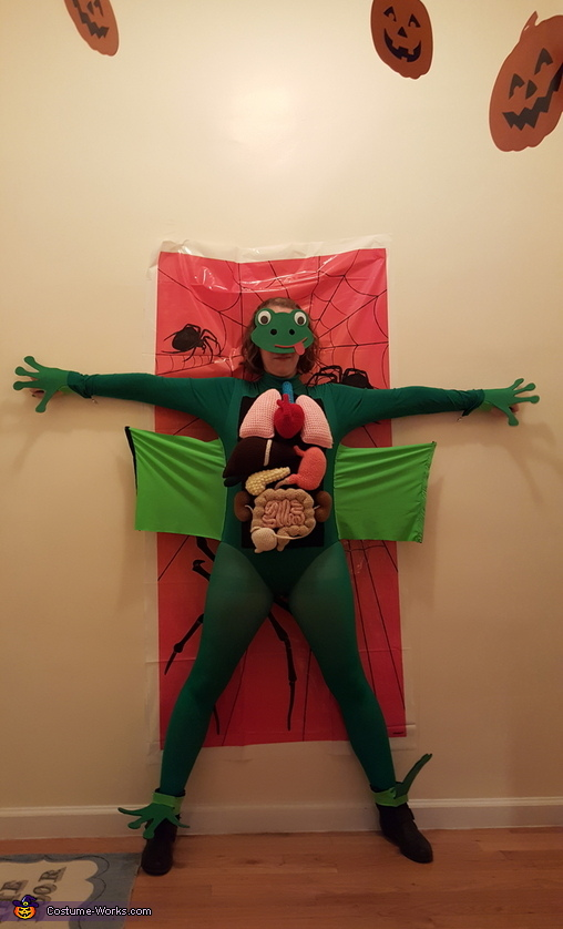A Dissected Frog Homemade Costume