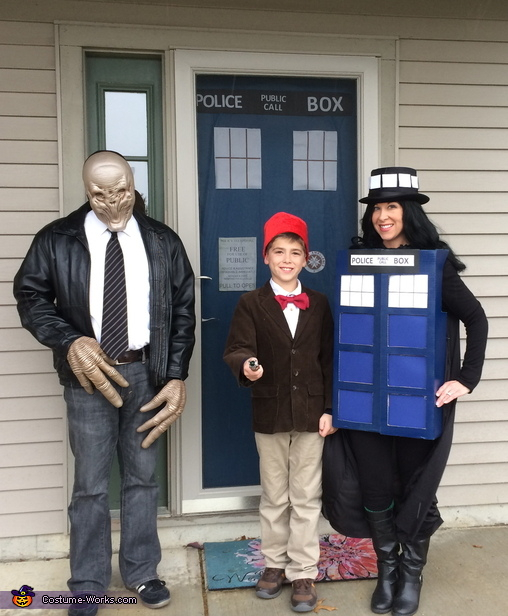 A Doctor Who Family Costume