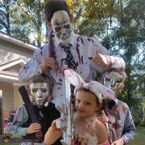 A Family of Purgers Costume