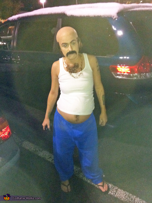 A full body shot. Carl from Aqua Teen Hunger Force - Homemade costumes for women