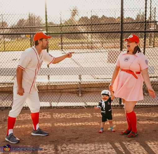 There's now crying in baseball, A League of Their Own Costume