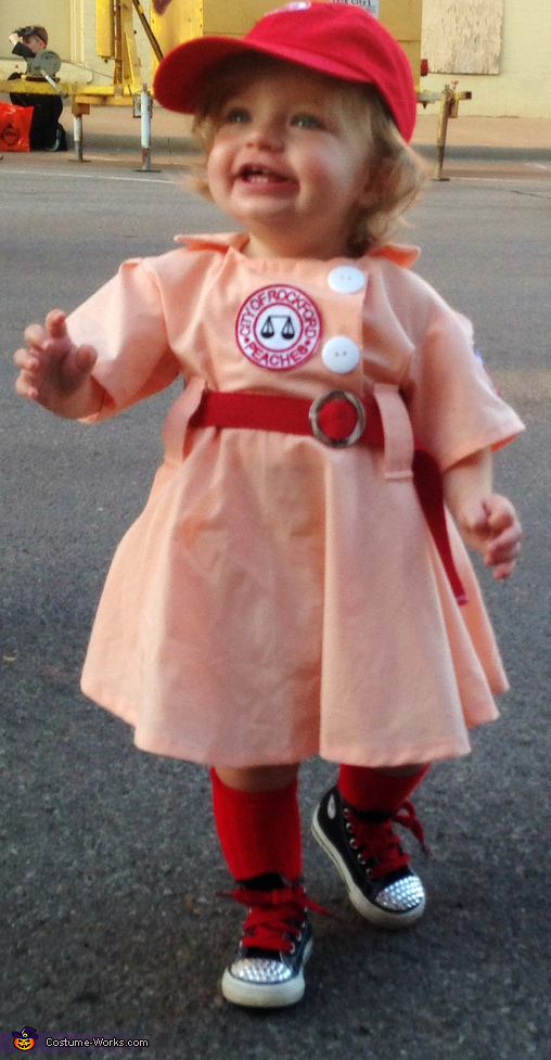 A League of Their Own Baby Costume