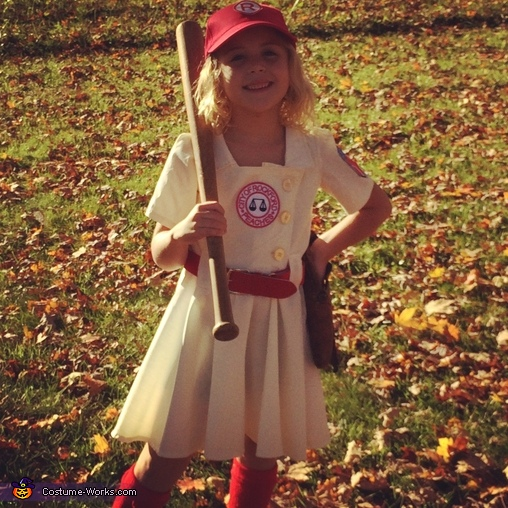 A League of Their Own Dottie Hinson Costume