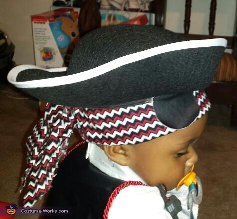 'A Little Pirate Pizazz' Prince Landon Amir, A Little Pirate Pizazz Costume
