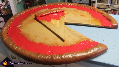 Before the toppings, A Piece of the Pie Costume