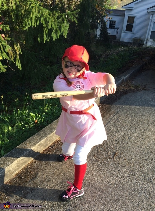 A Rockford Peach Costume