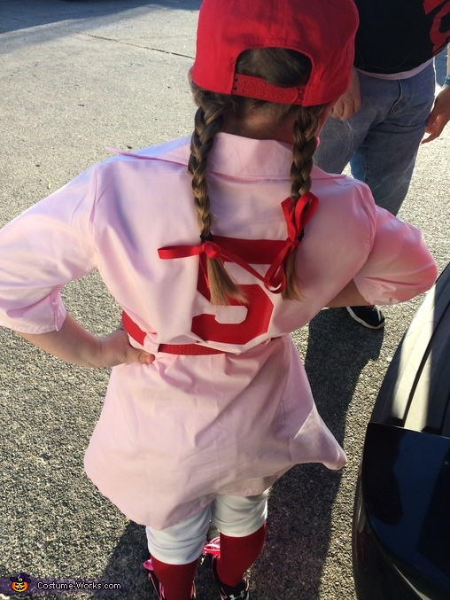 #5, A Rockford Peach Costume