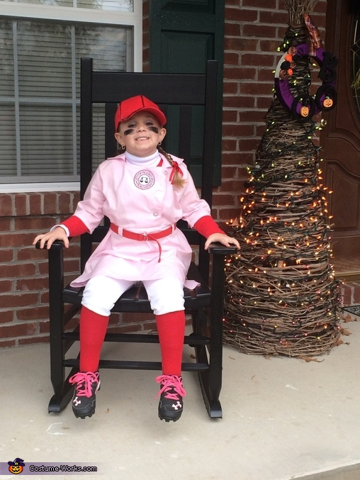 Cutest Peach Around! , A Rockford Peach Costume