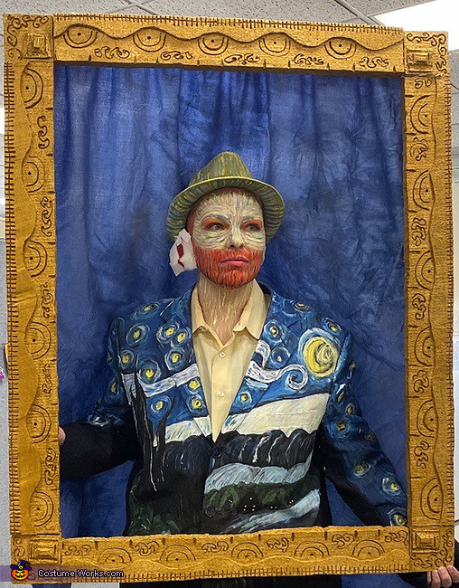 A Starry Night with Van Gogh Costume
