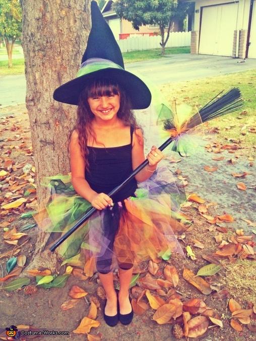 A Tutu Cute Witch Costume