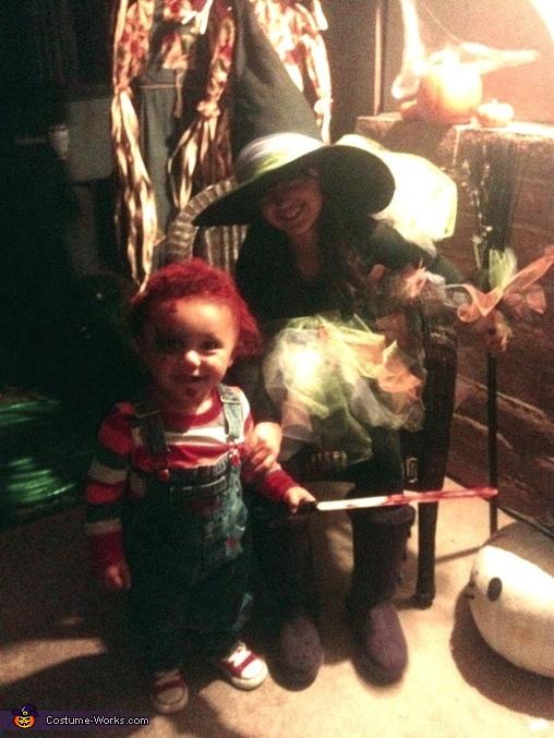 A Tutu Cute Witch Homemade Costume