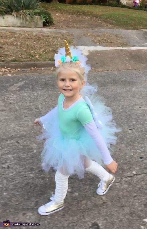 A Unicorn Named Sparkle Costume