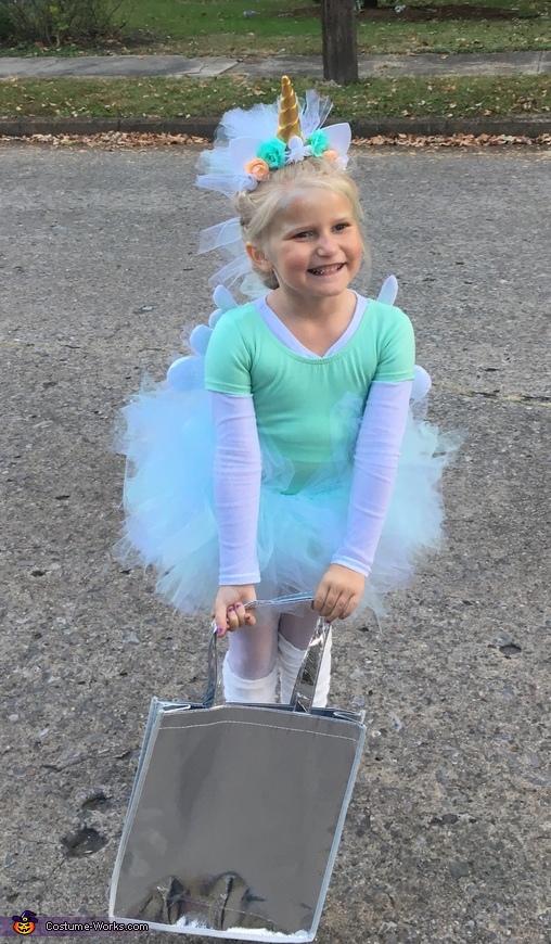 A Unicorn Named Sparkle Homemade Costume