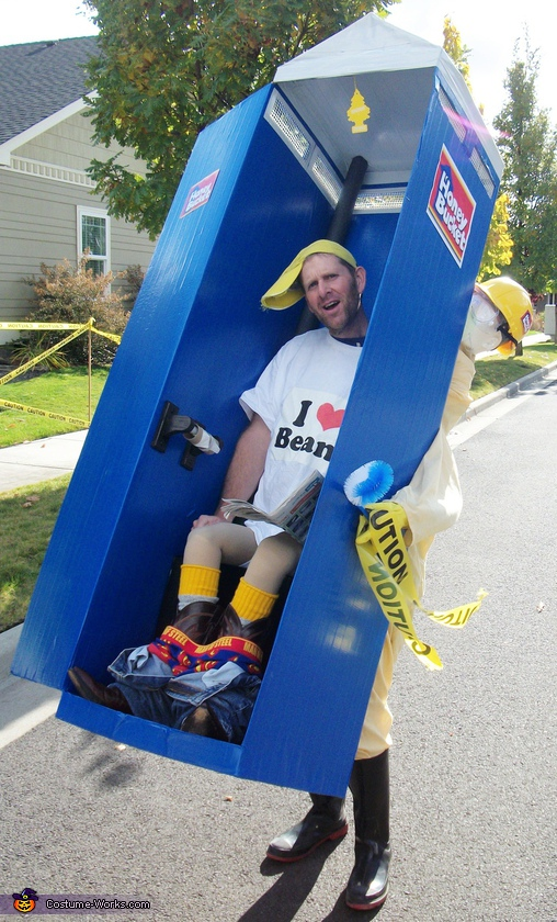 Honey Bucket Costume