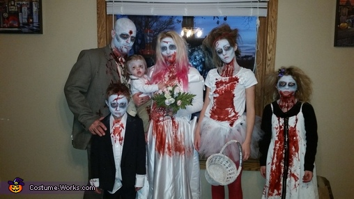 A Zombie Wedding Costume