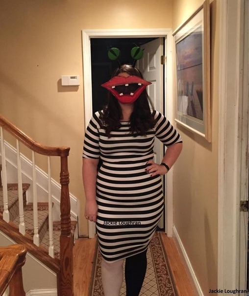 Aaahh!!! Real Monsters Oblina Costume