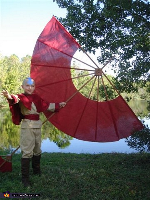 The Last Airbender Aang Avatar Costume