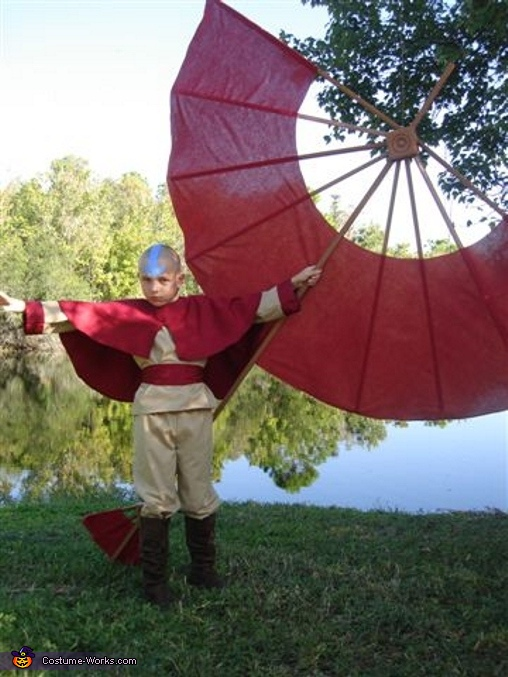 Aang Avatar Costume