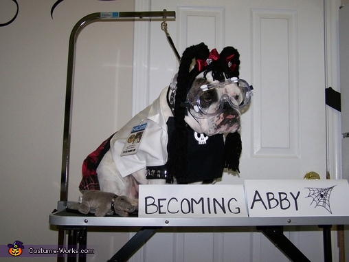 Abby Sciuto NCIS Forensic Scientist Homemade Costume
