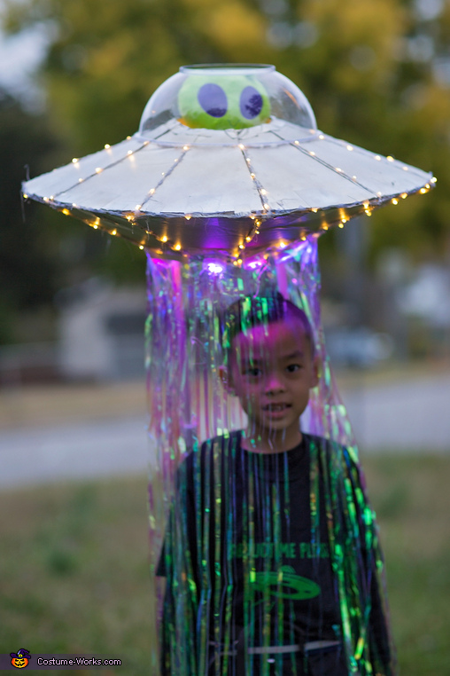 Abducted by Alien Homemade Costume