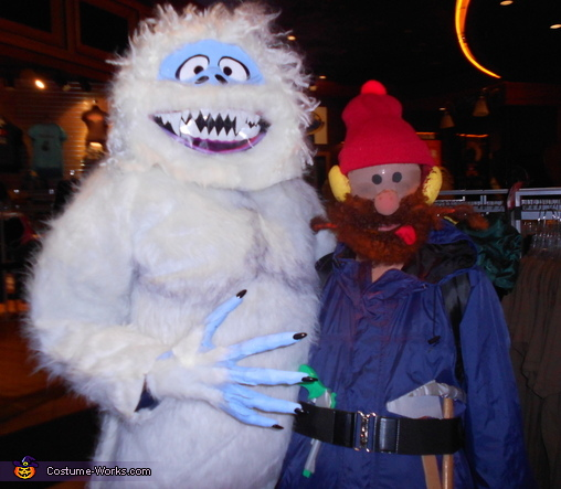 Abominable Snowman and Yukon Cornelius Costume