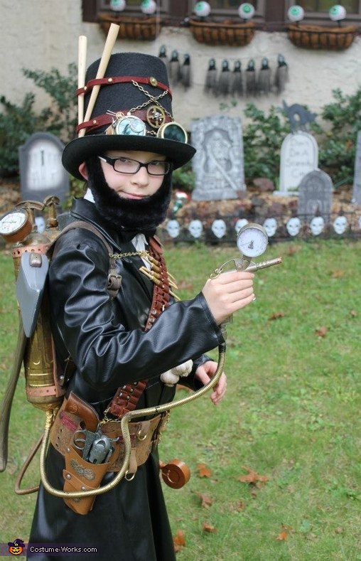Abraham Lincoln, Steampunk Vampire Hunter Costume