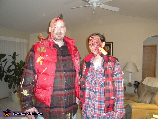 Lumber Jack & Jill had a bad day #2, Lumber Jack and Jill Costume