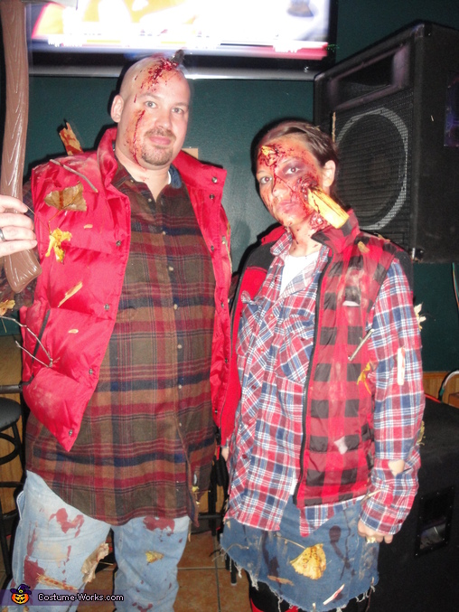 Lumber Jack and Jill Halloween Costumes