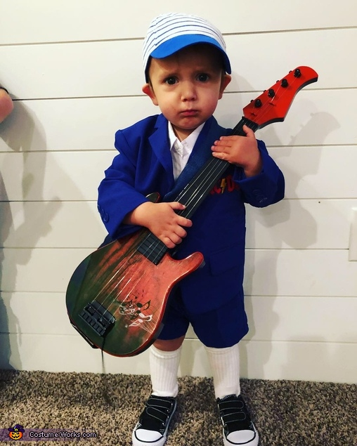 Little Angus Young, AC/DC Costume