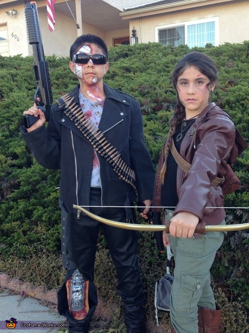 Action Heroes, The Terminator, Katniss Everdeen, Action Heroes Costume