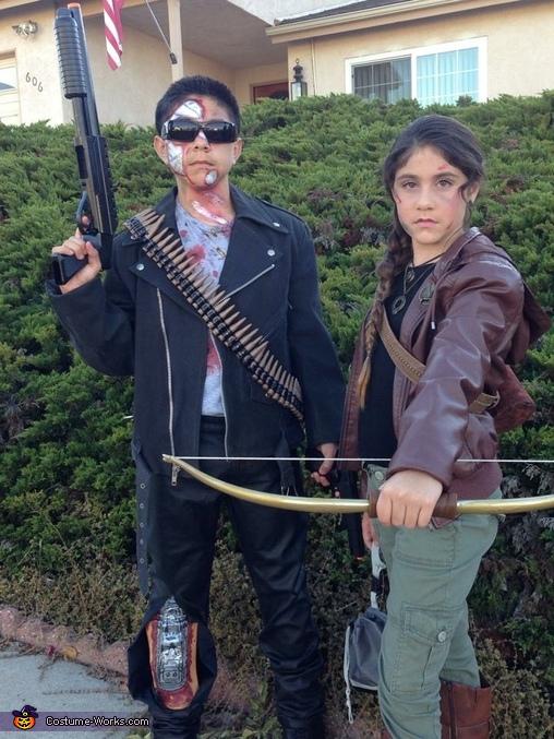 Action Heroes, The Terminator, Katniss Everdeen, Action Heroes Costume