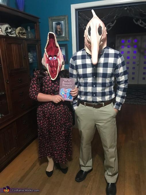 Adam and Barbara from Beetlejuice Costume