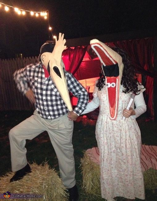 Beetlejuice Adam and Barbara Maitland Couple Costume