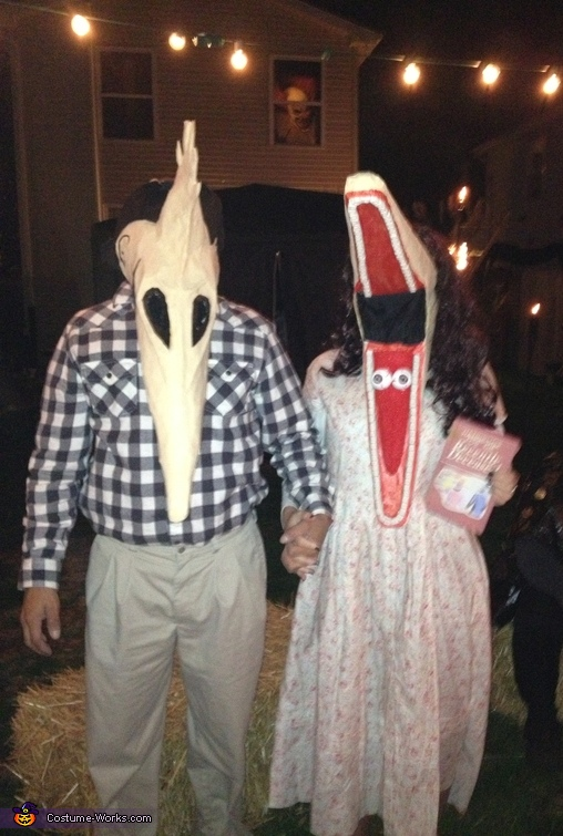 The Maitlands!, Beetlejuice Adam and Barbara Maitland Couple Costume