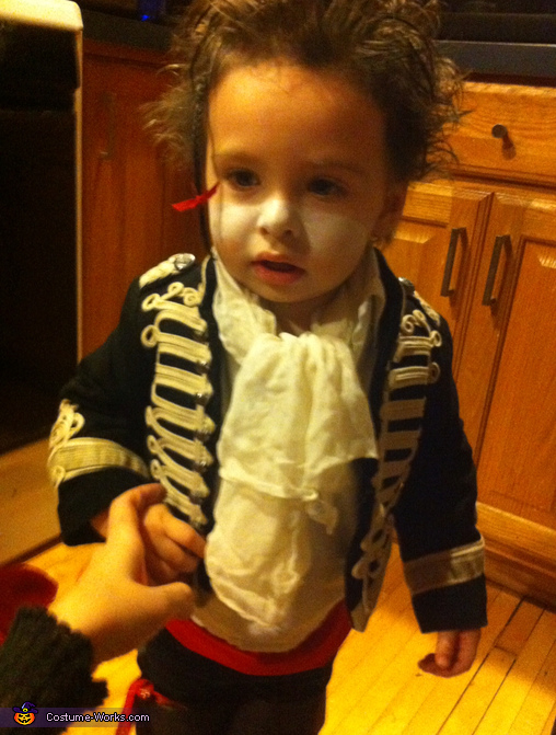 Adam Ant Baby Homemade Costume
