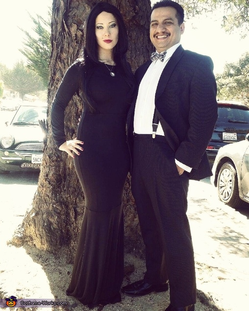 The Addams Family Homemade Costume