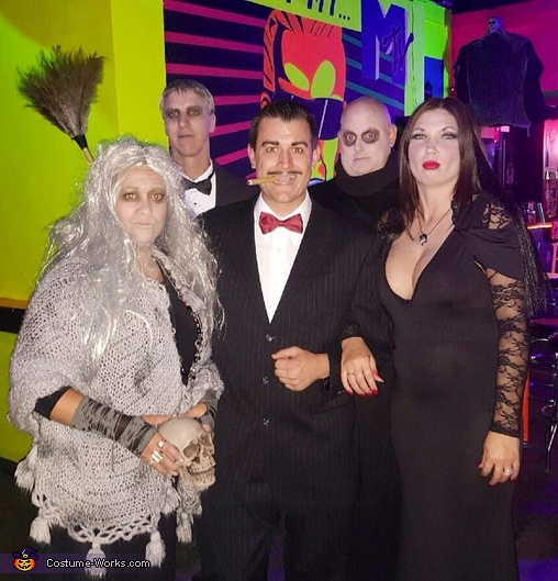 Addams Family, Addams Family Costume