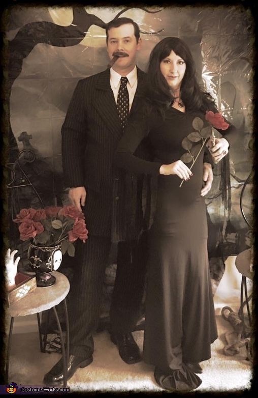 Morticia and Gomez, Addams Family Costume