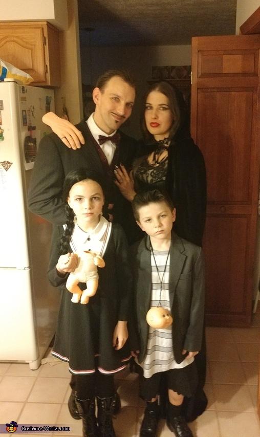 Addams Family Costume
