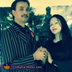Mortisa and Gomez Addams , Addams Family Costume