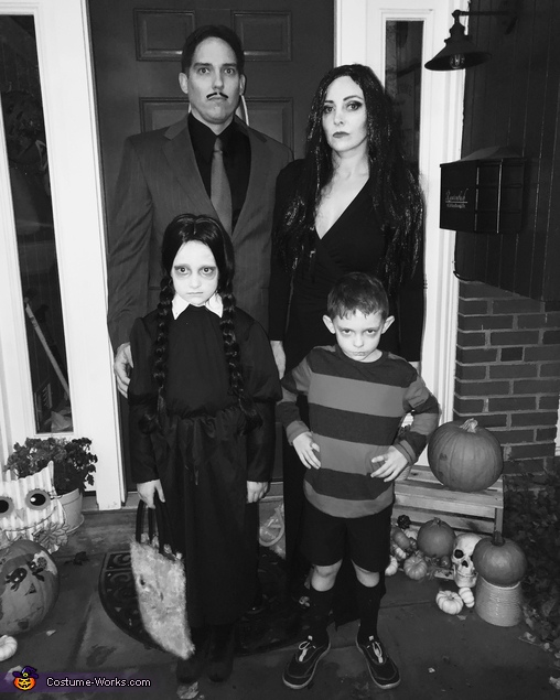 family costume, Addams Family Costume