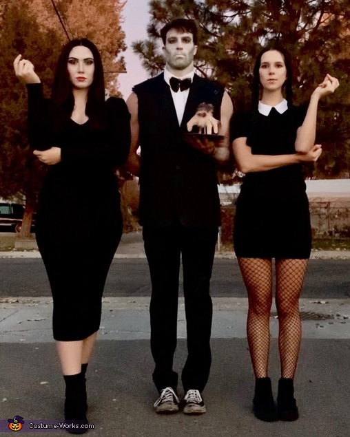 Addams Family College Roomies Costume