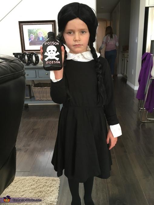 Addams Family Theme Homemade Costume
