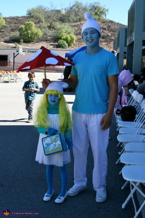 Adorable Smurfette Costume