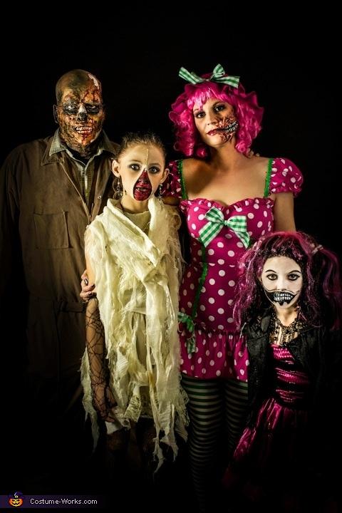 Adorably Creepy Costume