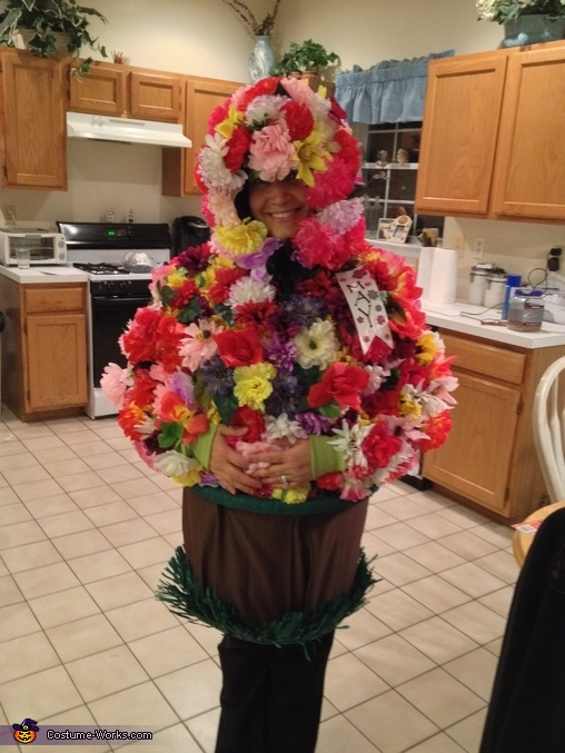 Flower Pot standing, Adult Flower Pot Costume