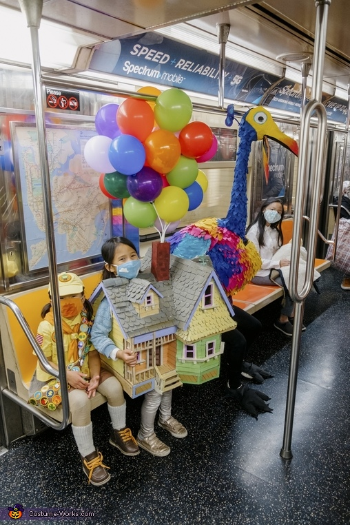 Adventure is... in the subway!, Adventure is Out There! Costume