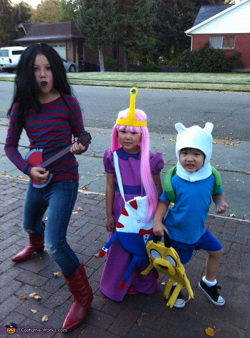 Adventure Time - Homemade costumes for kids