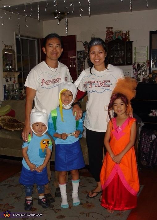 Adventure Time Family Costume